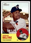 2012 Topps Heritage #356  Adrian Beltre  Front Thumbnail
