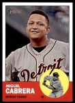 2012 Topps Heritage #348  Miguel Cabrera  Front Thumbnail