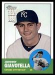 2012 Topps Heritage #256  Johnny Giavotella  Front Thumbnail