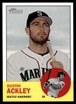 2012 Topps Heritage #366  Dustin Ackley  Front Thumbnail