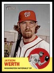 2012 Topps Heritage #47  Jayson Werth  Front Thumbnail