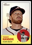 2012 Topps Heritage #350  Tommy Hanson  Front Thumbnail
