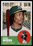 2012 Topps Heritage #354  Jemile Weeks  Front Thumbnail