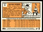 2012 Topps Heritage #86  Dayan Viciedo  Back Thumbnail