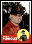 2012 Topps Heritage #99  Wandy Rodriguez  Front Thumbnail