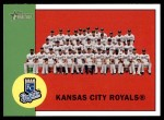 2012 Topps Heritage #397   Royals Team Front Thumbnail
