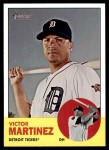 2012 Topps Heritage #64  Victor Martinez  Front Thumbnail