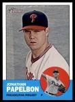 2012 Topps Heritage #136  Jonathan Papelbon  Front Thumbnail