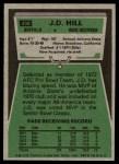 1975 Topps #438  J.D. Hill  Back Thumbnail