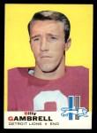 1969 Topps #101  Billy Gambrell  Front Thumbnail