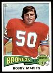 1975 Topps #523  Bobby Maples  Front Thumbnail