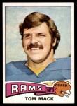 1975 Topps #420  Tom Mack  Front Thumbnail