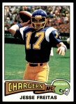 1975 Topps #518  Jesse Freitas  Front Thumbnail