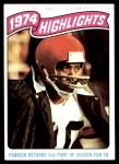 1975 Topps #457   -  Lemar Parrish  Highlights Front Thumbnail