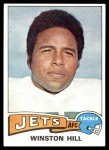 1975 Topps #485  Winston Hill  Front Thumbnail