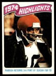 1975 Topps #457   -  Lemar Parrish  Highlights Front Thumbnail