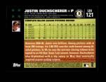 2007 Topps Update #121  Justin Duchscherer  Back Thumbnail