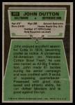 1975 Topps #501  John Dutton  Back Thumbnail