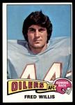 1975 Topps #504  Fred Willis  Front Thumbnail