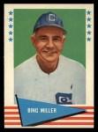 1961 Fleer #62  Bing Miller  Front Thumbnail