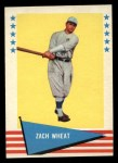 1961 Fleer #86  Zach Wheat  Front Thumbnail