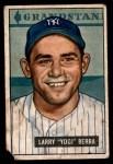 1951 Bowman #2  Yogi Berra  Front Thumbnail