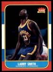 1986 Fleer #104  Larry Smith  Front Thumbnail
