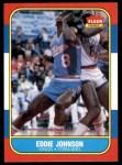 1986 Fleer #51  Eddie Johnson  Front Thumbnail