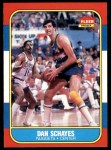 1986 Fleer #98  Danny Schayes  Front Thumbnail