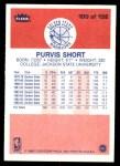 1986 Fleer #100  Purvis Short  Back Thumbnail