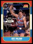 1986 Fleer #96  Jeff Ruland  Front Thumbnail