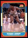 1986 Fleer #54  Marques Johnson  Front Thumbnail