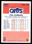 1986 Fleer #48  Phil Hubbard  Back Thumbnail