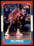 1986 Fleer #48  Phil Hubbard  Front Thumbnail
