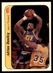 1986 Fleer Sticker #3  Adrian Dantley  Front Thumbnail