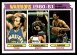 1981 Topps #51   Warriors Leaders Front Thumbnail