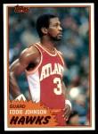 1981 Topps #68 E Eddie Johnson  Front Thumbnail