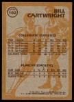 1981 Topps #102 E  -  Bill Cartwright Super Action Back Thumbnail
