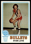 1973 Topps #76  Stan Love  Front Thumbnail