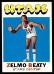 1971 Topps #165  Zelmo Beaty  Front Thumbnail
