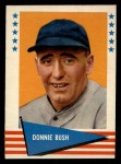 1961 Fleer #96  Donnie Bush  Front Thumbnail