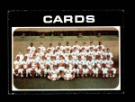 1971 Topps #308   Cardinals Team Front Thumbnail