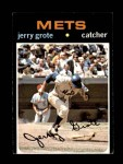1971 Topps #278  Jerry Grote  Front Thumbnail