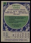 1975 Topps #81  Dwight Jones  Back Thumbnail