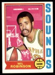 1974 Topps #179  Wil Robinson  Front Thumbnail