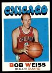 1971 Topps #128  Bob Weiss  Front Thumbnail