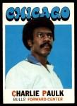 1971 Topps #102  Charlie Paulk  Front Thumbnail