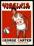 1971 Topps #205  George Carter  Front Thumbnail