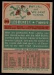 1973 Topps #263  Les Hunter  Back Thumbnail