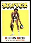 1971 Topps #186  Julius Keye  Front Thumbnail